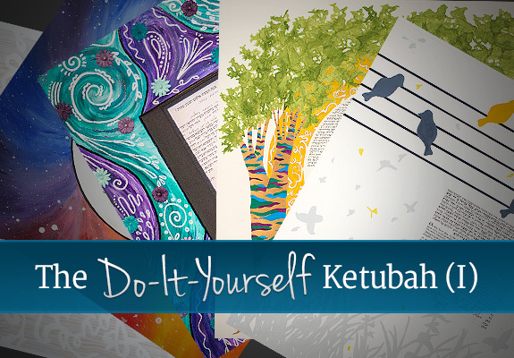 The do it yourself ketubah jewish wedding blogjewish wedding blog the do it yourself ketubah solutioingenieria Images