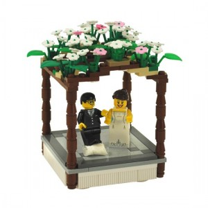 Jewish Chuppah Wedding Cake Topper